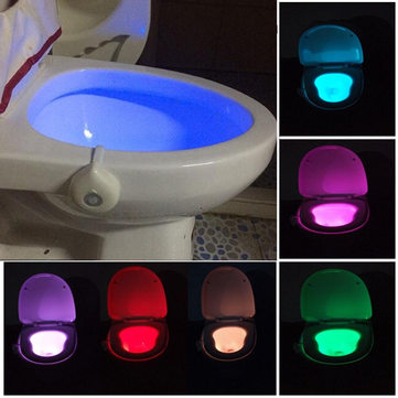Motion Activated Toilet Night Light Bowl