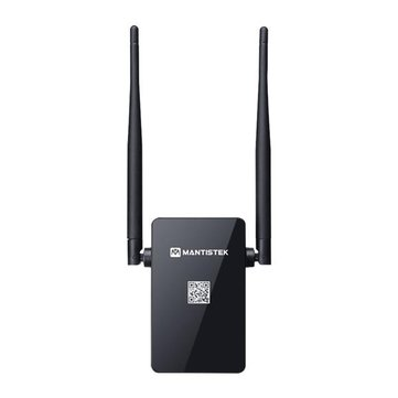 MantisTek® WR300 300Mbps dual 5dBi Wireless WiFi Repeater Network Router Extender