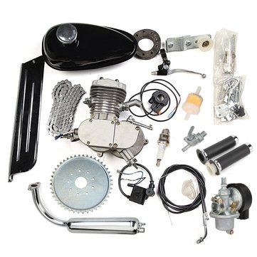 80cc 2 Cycle Motorcycle Muffler Motorized