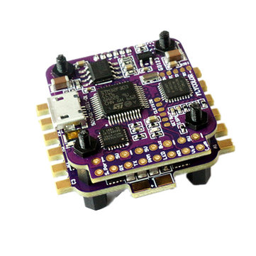 Flycolor RAPTOR S-Tower 12A  BLHeli-S 2-3S ESC Dshot Integrated BEC with F3 Flight Controller for RC Drone