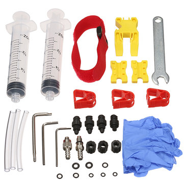 Bike Hydraulic Disc Brake Bleed Kits Tool For Shimano TEKTRO MAGURA ZOOM ECHO