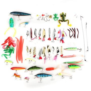 Fishing Crankbait Popper Minnow Spoon Soft