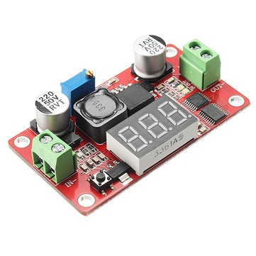 XL6009 DC-DC Boost Step Up Power Module Output Voltage Continuously Adjustable Digital Display With Reverse Connection Protection Short Circuit Over-Current Over-Heat Protection Function