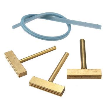 3pcs 30w / 40w / 60w pontas de ferro t solda com prensagem a quente livre para a tela de lcd de reparação cabo flexível