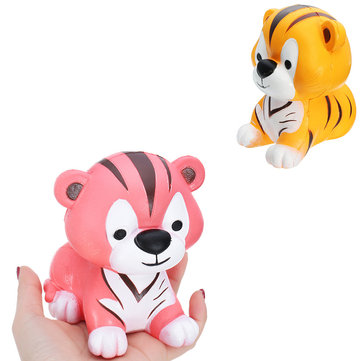 Squishy Tiger 12*11*10CM Sweet Soft Slow Rising Collection Gift Decor Toy