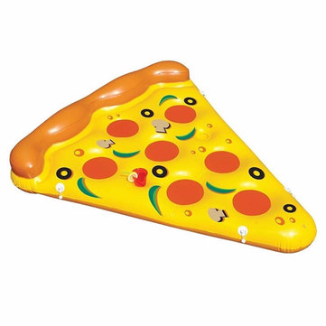 Summer Water Toy Inflatable Pizza Flotating