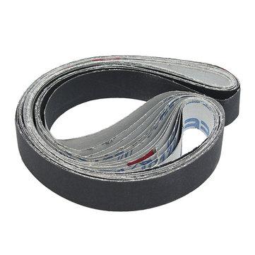 12Pcs 1x30 Inch Cinturones de lijado Carburo de silicio 400/600/800/1000 Grits Abrasive Sanding Belts