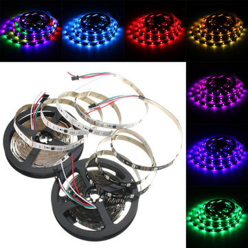 5m 36w dc 12v ws2811 150 smd 5050 led rgb changeable flexible 5m 36w dc 12v ws2811 150 smd 5050 led rgb changeable flexible strip light individually addressable mozeypictures Choice Image