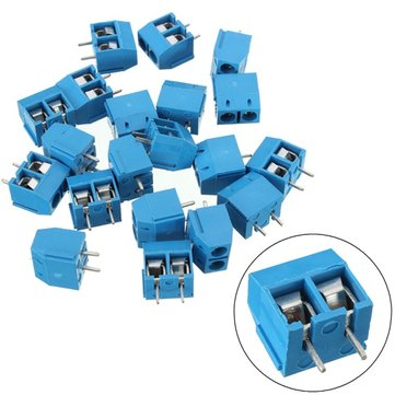 20PCS KF301-2P 5.08mm 2 Pin Connect Terminal Screw Terminal Connector