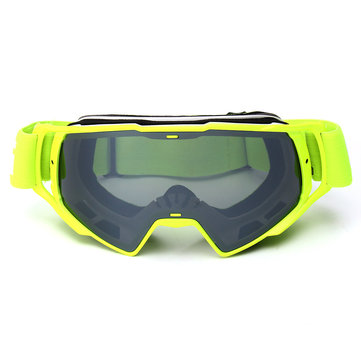 Anti-UV Motocross Goggles Off Road ATV Bike Helmet Eyewear Grey Removal Lens 1132523