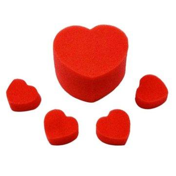 Close-upStreetMagicAccessoiresMagicTrucs Sponge Heart Love Balls Speelgoed Cadeaus
