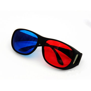 Blue And Red 3D Glasses for Home Theater Movie Cinema Game Apply to LED Projector