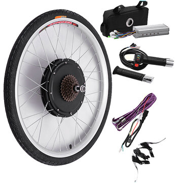 48V 500W 26Inch Electric Bicycle Modification Kits Driving Motor Wheel Controller Electric...
