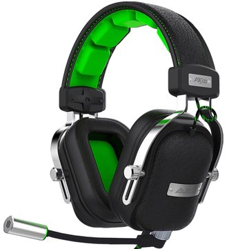 Original Ajazz AX300 Turbo Bass Gaming Headphone Subwoofer Headset with Detachable Mic