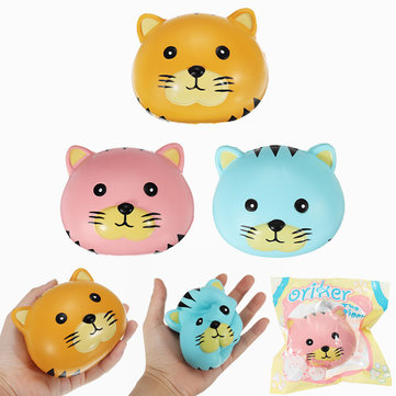 Orikella Squishy Tigre Ball Ball 10cm Soft Sweet Slow Rising Originale Gift Collection Collection