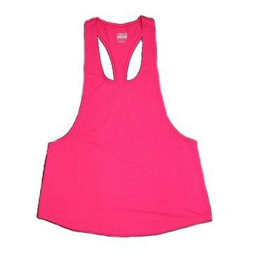 Women Yoga Gym Sport Shirt Vest Sleeveless Fitness Running I Shaped Quick Dry Tank Top Clothing