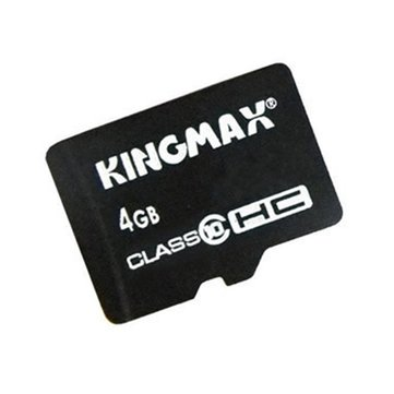 Kingmax 4GB Class 10 High Speed TF Card Flash Memory Card for Mobile Phone