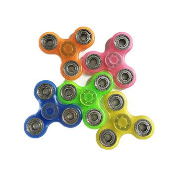 Luminous Hand Spinner vingertop Fluorescence gyroscoop kinderen volwassen Fidget Funny Focus Toys