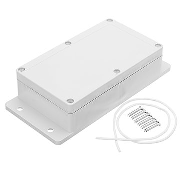 3pcs 158 x 90 x 46mm DIY Plastic Waterproof Project Housing Electronic Junction Case Power Supply Box Instrument Case