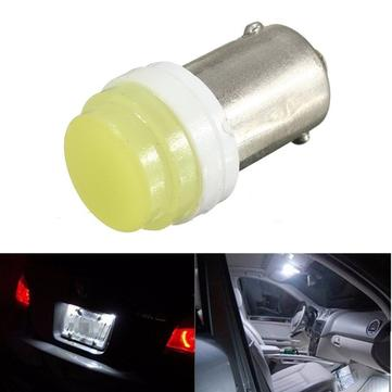 BA9S Ceramic COB LED T4W Car License Plate Light Bulb Reading Lamp DC 12V