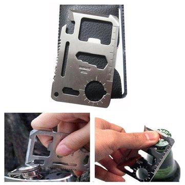 IPRee Tactical Mini Knife Card Life-saving Multifunctional Tool Card Outdoor Survival