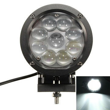 7 Inch 45W LED Working Light Flood Spot Beam for Off-road Jeep ATV SUV Boat
