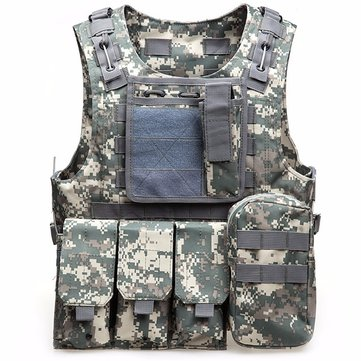 Outdoor Tactical Vest Multi Pockets Fishing