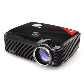 PH5 1080P HD 3D LED Projector 2500LM VGA AV TV HDMI USB Inputs Home Theater