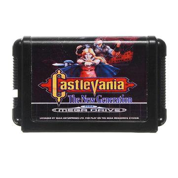 16 bit cartão de jogo md castlevania a nova geração para a Sega sistema de console megadrive jogo de vídeo