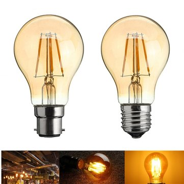 A60 E27/B22 4W Retro LED Filament