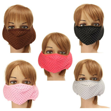 Cotton Ear Face Mouth Earmuffs Masks Anti-Dust Protective Motorcycle Cycling Unisex