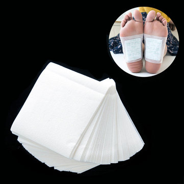 100Pcs Foot Detox Patch Natural Toxin Cleansing Health Pads