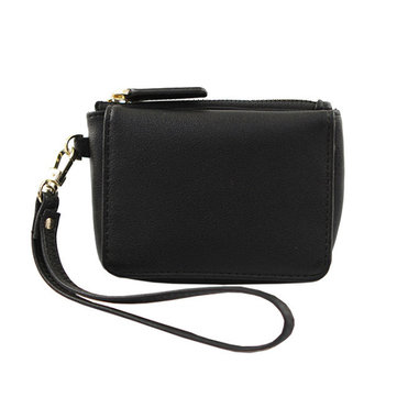 Women PU Leather Multi Function Card Slots Change Wallet Coin Purse Small Handbag