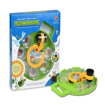 Insecten Plant Viewer Children's Microscoop Educational Gadget speelgoed Leukvoorkids Verjaardagscadeau