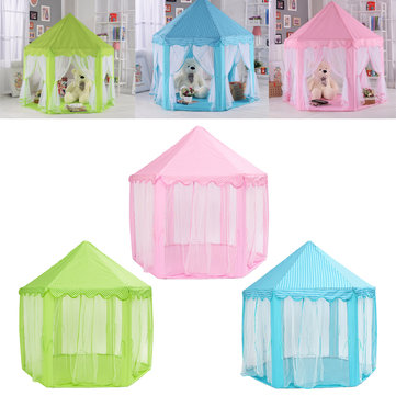 Portable Princess Castle Play Tent Activity Fairy House Fun Play House Toy 55.1x55.1x53  sc 1 st  Banggood & Portable Princess Castle Play Tent Activity Fairy House Fun Play ...