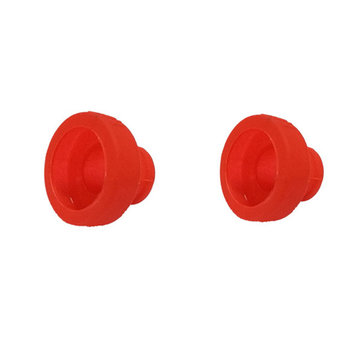 2PCS Plastic Protective Sleeve Cover for Emax Pagoda 2 Antenna Red/White/Black