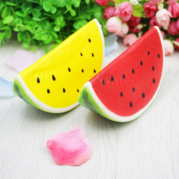 Squishy Jumbo Watermelon 14cm Slow Rising Fruit Collection Gift Decor Toy