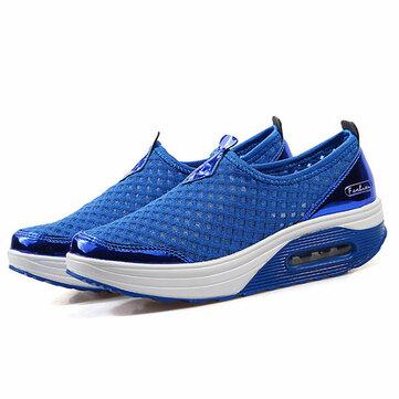 Amerikaanse maat 5-11 Women Mesh ademend Outdoor Sport Running Shoes