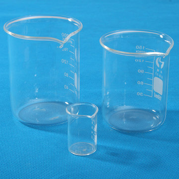 10ml/150ml/200ml Glass Lab Beaker Low Form Chemical laboratory Equipment