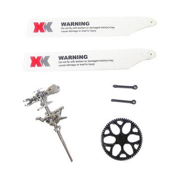 XK K110 K120 V977 Upgraded Main Rotor Head Set Assembly