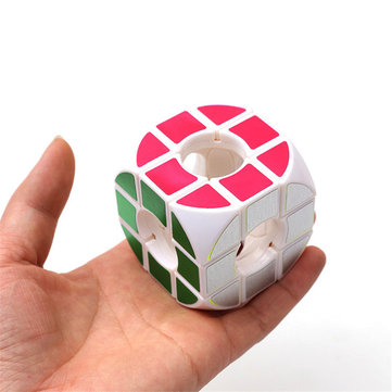 Square Arc Hollow Three - Order Cube Anxiety Stress Relief Fidget Toys Focus Adults Attention Toys