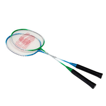SUPER-K Staal Badminton Racket Professionele Lichte Weight Competition Racket