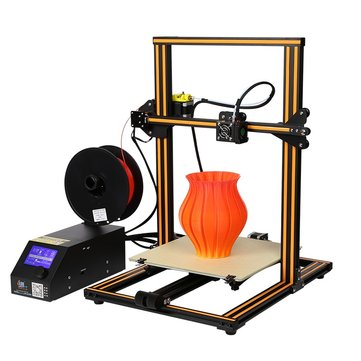 DISCOUNTED!  NEW Creality 3D CR-10 DIY 3D Printer Kit 300*300*400mm Printing Size 1.75mm 0.4mm Nozzle