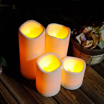 Cylindrical flickering led candle light flameless garden yard cylindrical flickering led candle light flameless garden yard christmas lamp decoration fandeluxe Document