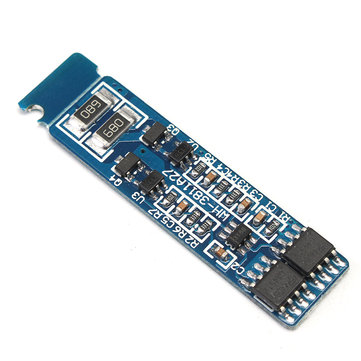 DC 9V 4A 2S Lithium Battery Protection Board Li-ion Cell With Balanced Charging