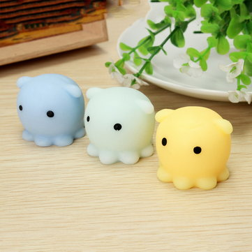Octopus Squishy Squeeze Toy Cute Healing Toy Kawaii Collection Stress Reliever Gift Decor Sale ...