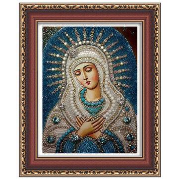 Honana WX-677 5D جولة الماس الرسم DIY عبر الابره ديكور المنزل الماس التطريز هدية الدينية