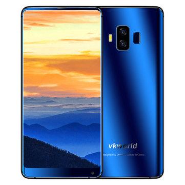 Vkworld S8 5.99 Pulgadas 5500mAh 4GB RAM 64GB ROM MTK6750T Octa Core 4G Smartphone