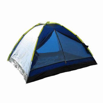 Campeggio esterna registrato antipioggia super grande tenda per 3-4 persone