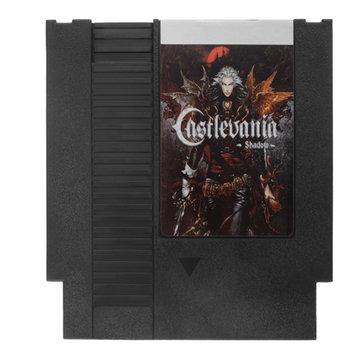 Castlevania - sombras 72 pinos 8 bit cartucho de cartão de jogo para nes nintendo